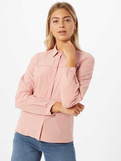 CRAGHOPPERS Sportbluse in rosa: Frontalansicht