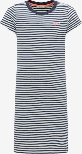 Petrol Industries Kleid in marine / weiß, Produktansicht