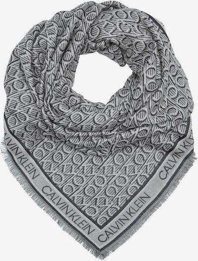 Calvin Klein Tuch in grau / dunkelgrau, Produktansicht