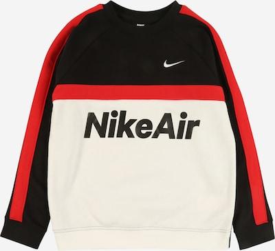 Nike Sportswear Mikina - červené / čierna / biela, Produkt