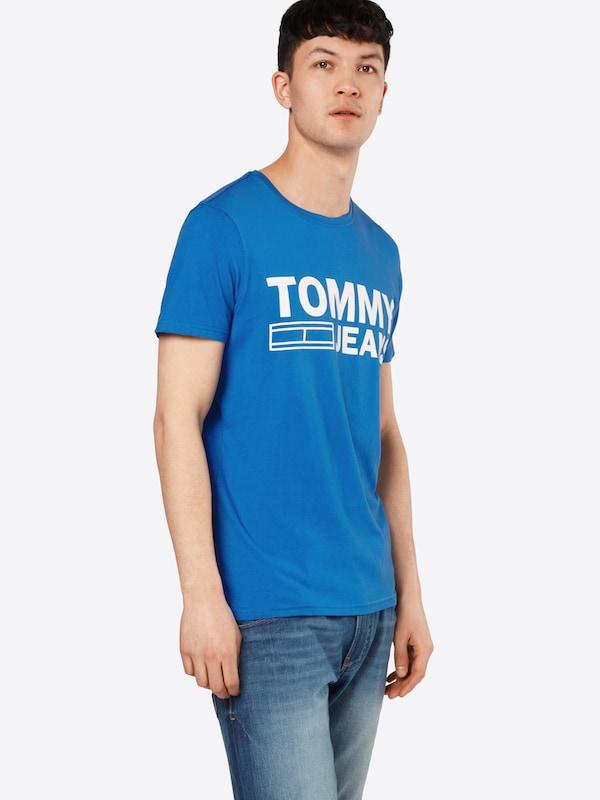 Tommy Jeans Logo-Shirt mit Print