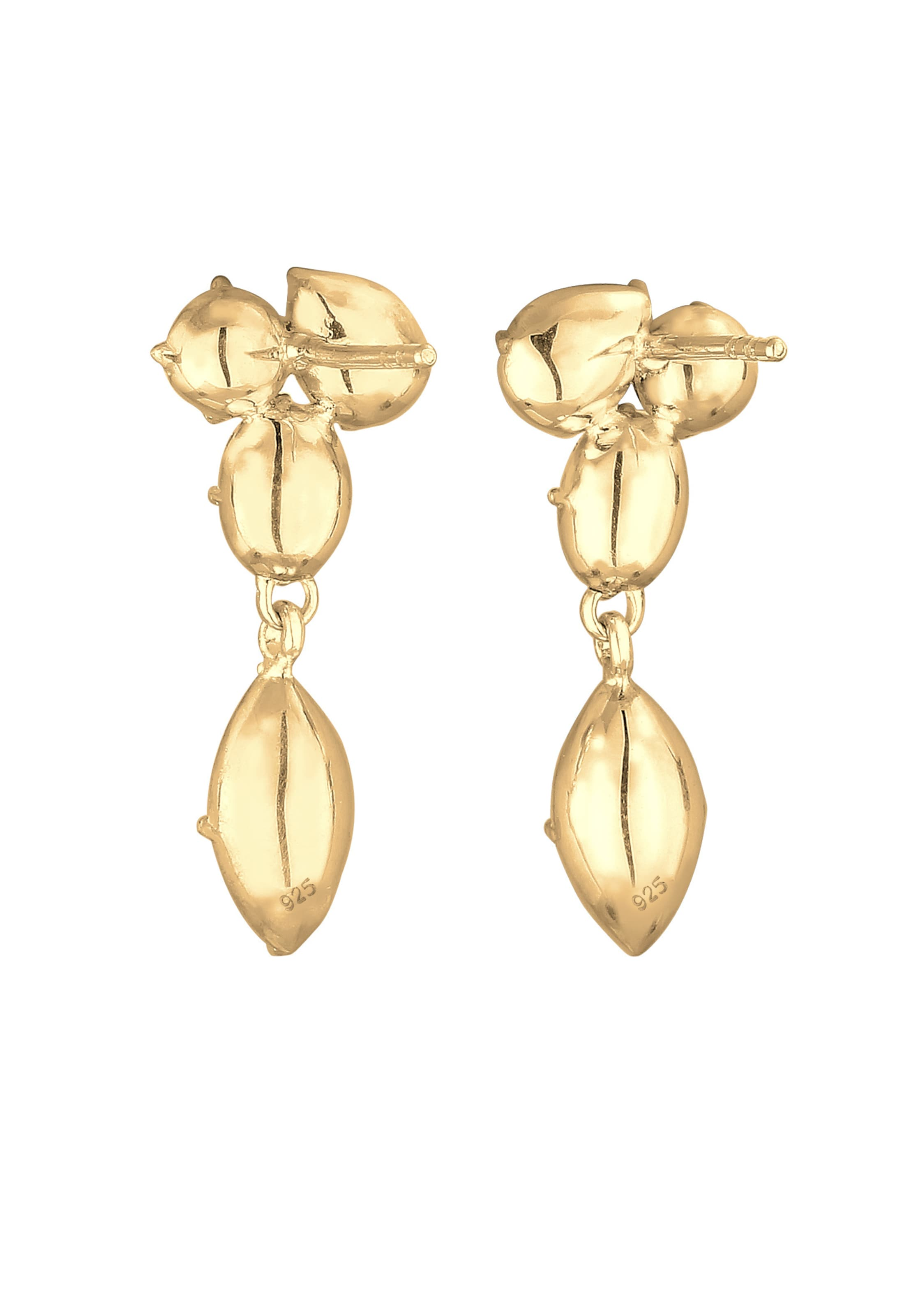 Elli Gold Ohrhänger' 'kristall In Premium Ohrringe 5Rj34LA