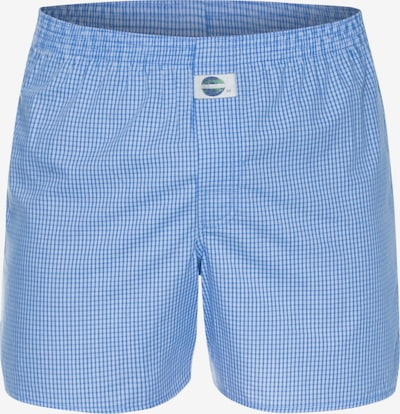 D.E.A.L International Boxershorts 'Check' in blau, Produktansicht