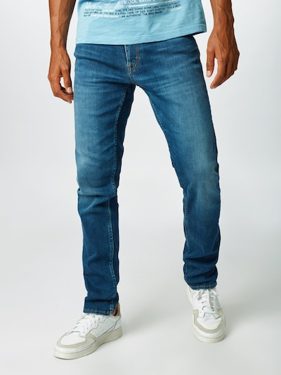 Tiger of Sweden Jeans 'LEON' in blue denim, Modelansicht