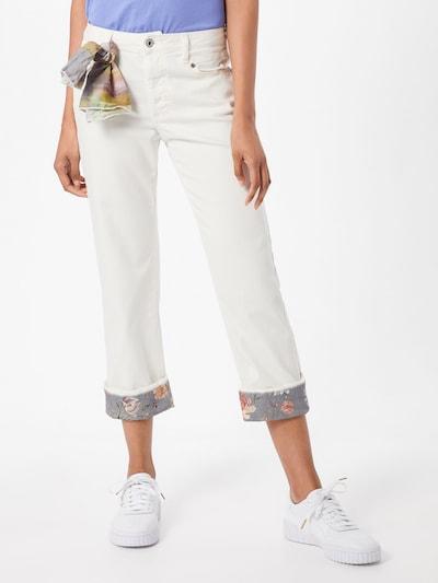 PLEASE Jeans in mischfarben / offwhite, Modelansicht