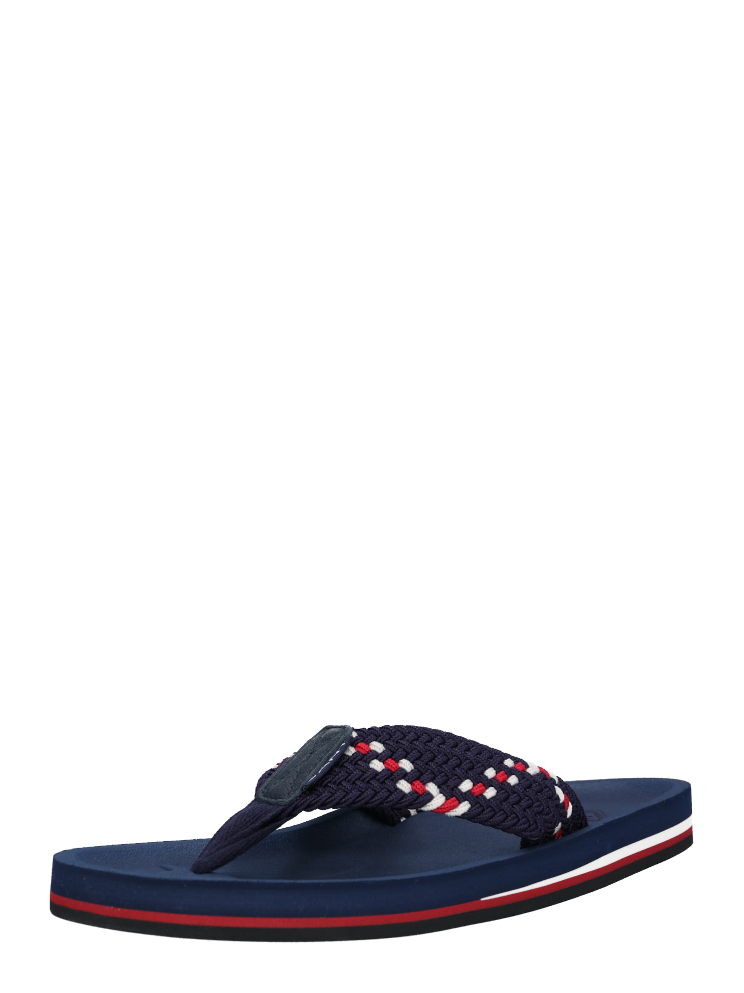 Weiß Slipper 'breeze' DunkelblauRot Gant In jL5RA43q