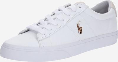fehér POLO RALPH LAUREN Rövid szárú edzőcipők 'Sayer Canvas', Termék nézet