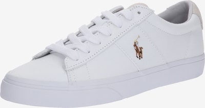 POLO RALPH LAUREN Sneakers laag 'Sayer Canvas' in de kleur Wit: Vooraanzicht
