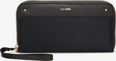 Pacsafe Geldbörse mit RFID 19,5cm in grau / schwarz, Produktansicht