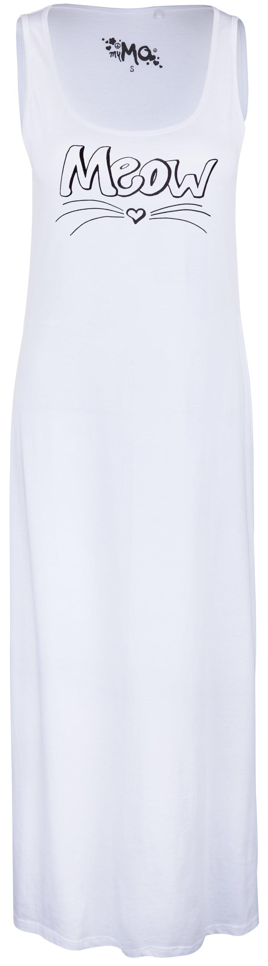 Robe En Mymo D'été Mymo Blanc Robe 0nwP8OkX