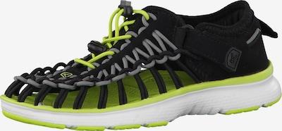 KEEN Sandals 'Uneek O2' in Grey / Green / Black, Item view