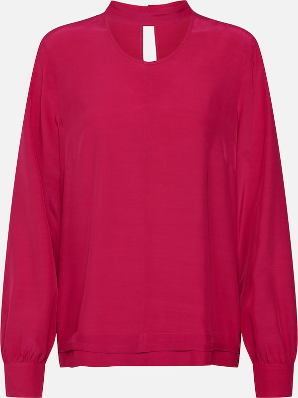 COMMA Bluse in pink: Frontalansicht