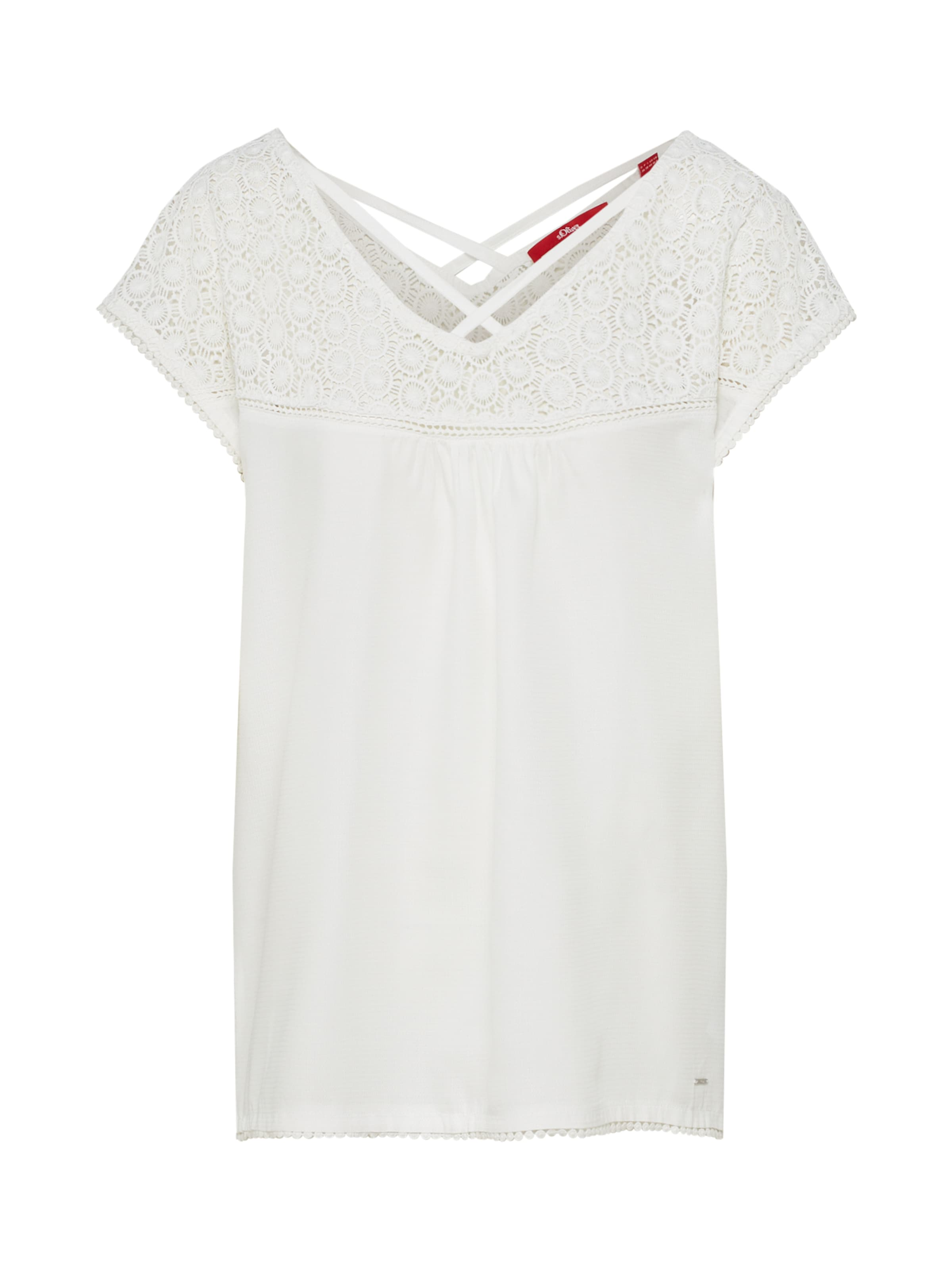 S T En shirt Red Label oliver Blanc kZiOXPu