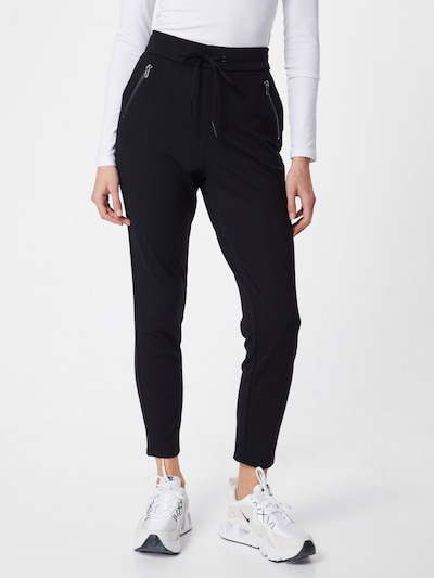Pantaloni 'EVA' VERO MODA pe negru, Vizualizare model