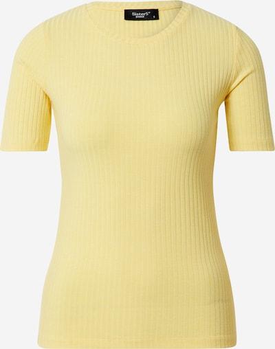 SISTERS POINT Shirt 'PRO' in pastellgelb, Produktansicht