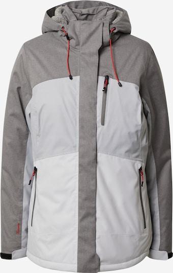 KILLTEC Funkcionalna jakna 'Ostfold' | siva / svetlo siva barva, Prikaz izdelka