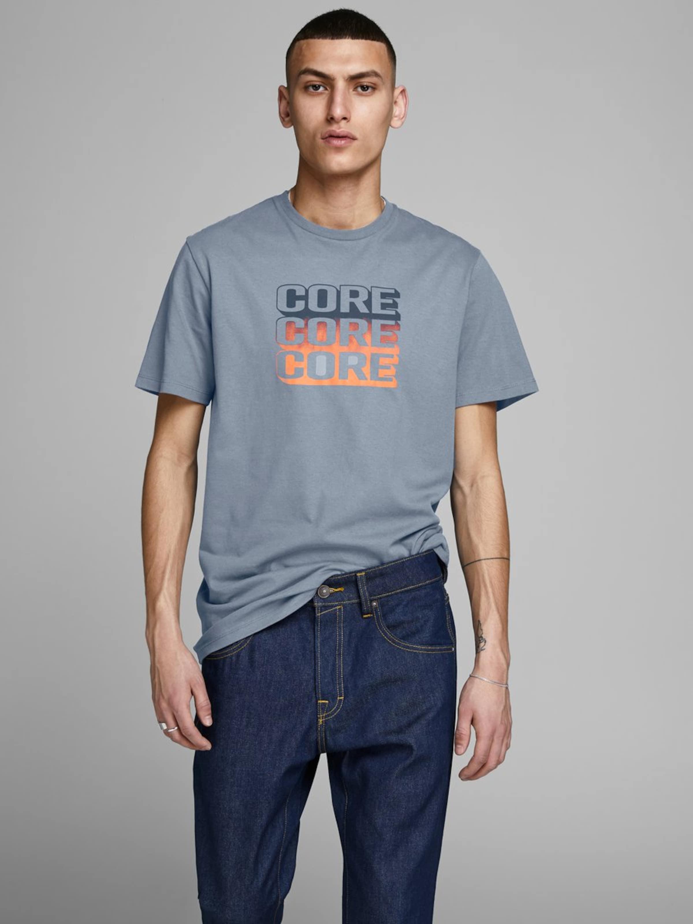 shirt Jones T Jackamp; En Bleu gris CexBdo