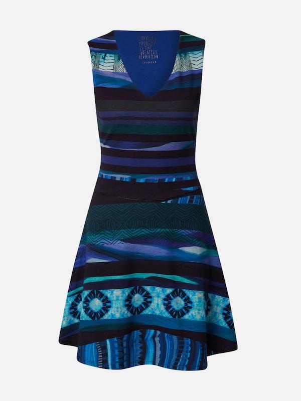 Desigual Kleid 'VEST_DUNA' in dunkelblau / mischfarben ...