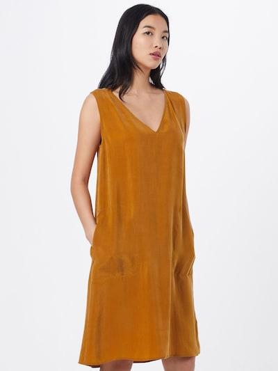 DRYKORN Kleid 'LANIA' in cognac, Modelansicht