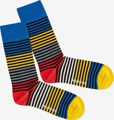 DillySocks Socken 'Four Color Ring' in mischfarben, Produktansicht