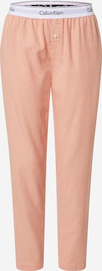 Calvin Klein Underwear Pantalon de pyjama 'SLEEP PANT' en orange, Vue avec produit