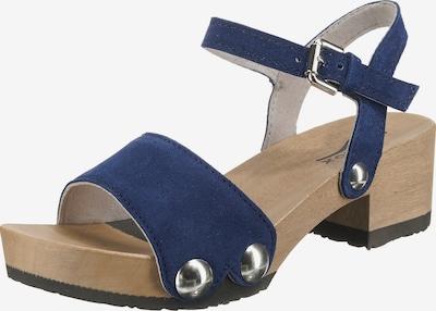 SOFTCLOX 'Penny' Plateau-Sandaletten in blau, Produktansicht