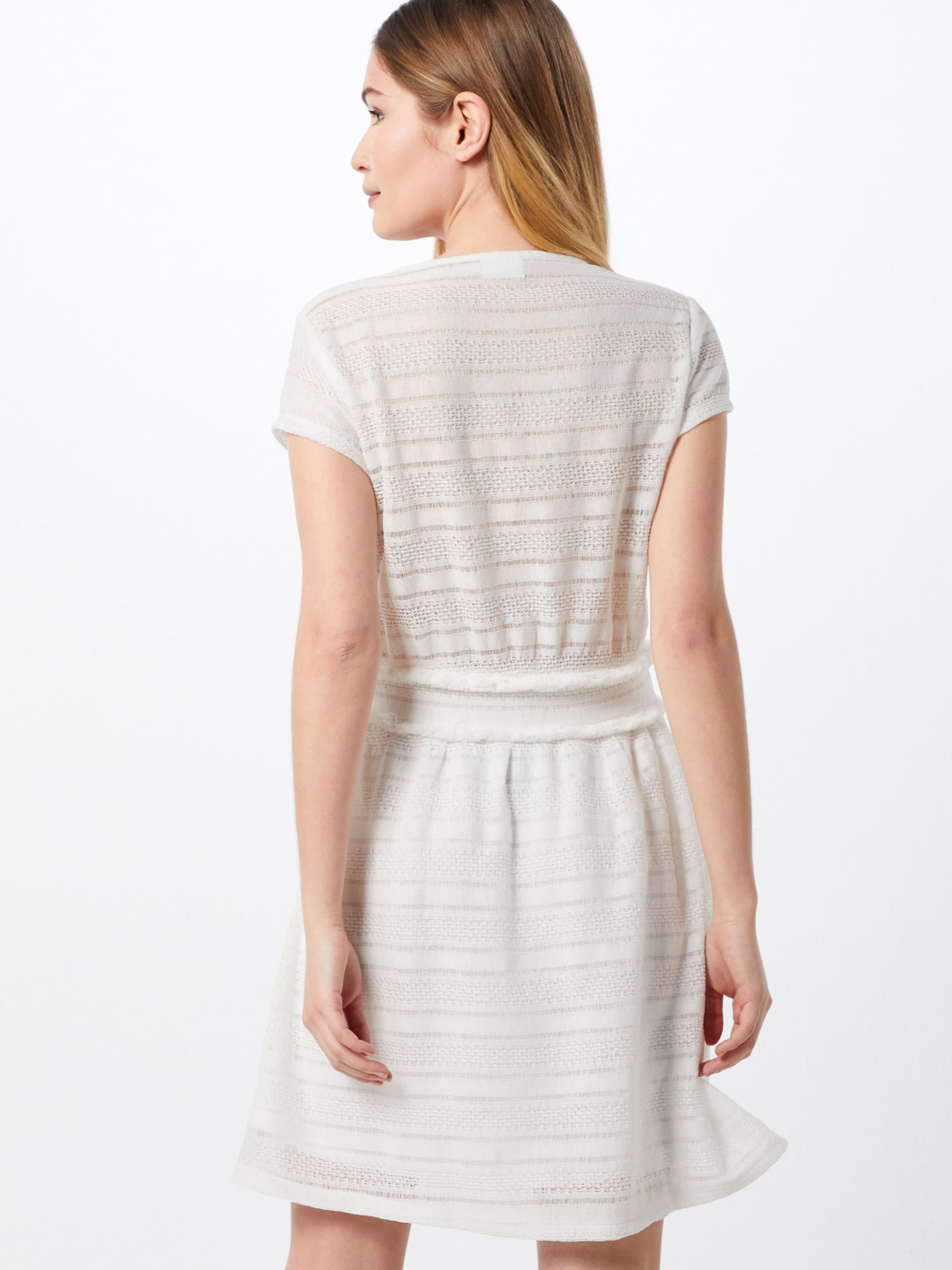 Kleid Weiß Vila 'vifringi' In Vila v0wmON8n