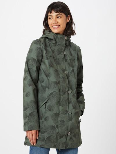 Blutsgeschwister Prijelazni kaput u zelena / tamno zelena, Prikaz modela