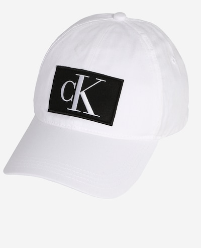 Calvin Klein Jeans Czapka z daszkiem w kolorze białym, Podgląd produktu