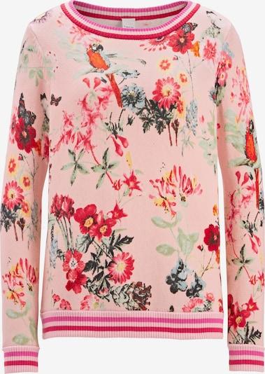 heine Pullover in mischfarben / rosé, Produktansicht
