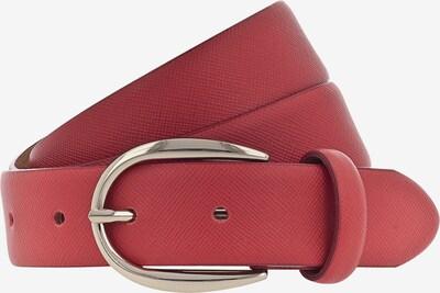 VANZETTI Ledergürtel '30mm' in gold / rot, Produktansicht