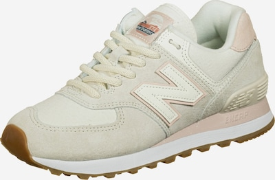 new balance Sneaker 'WL 574' in apricot / offwhite, Produktansicht