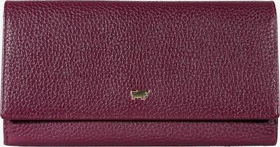 Braun Büffel Lederbörse ASTI L 25CS aus genarbtem Rindsleder in rot, Produktansicht