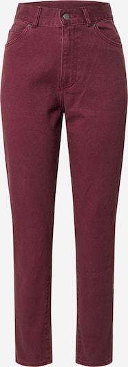 Dr. Denim Jeans 'Nora' i röd: Sedd framifrån