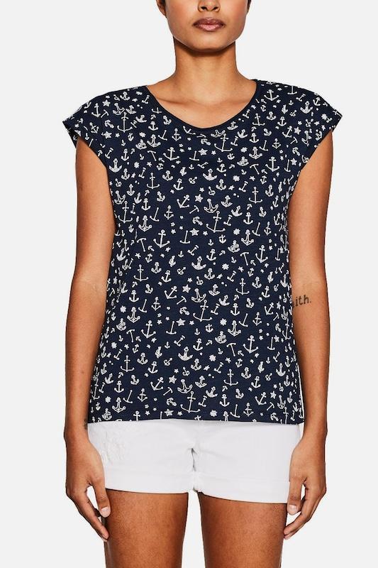 ESPRIT Jerseyshirt mit Ankerprint