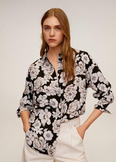 MANGO Hemd 'Tigre' in mischfarben / schwarz, Modelansicht