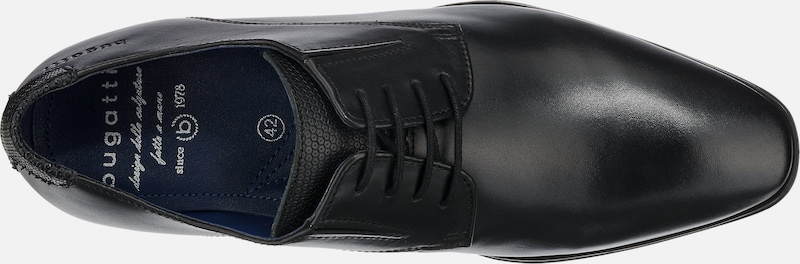 Lacets Noir En Chaussure À Bugatti nv8OmN0w