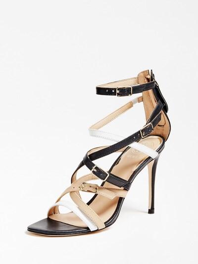 GUESS Sandalette 'Kaira' in schwarz, Produktansicht