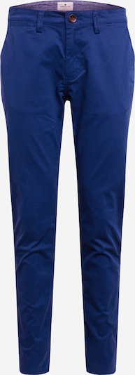 TOM TAILOR Pantalon chino 'washed structure chino' en bleu, Vue avec produit