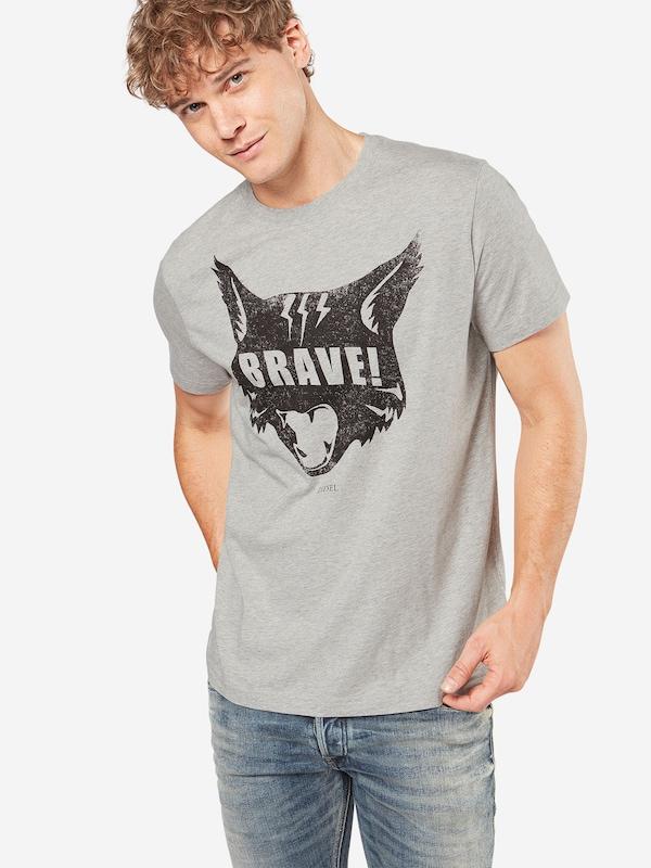 DIESEL T-Shirt 'T-JOE-QC Hemd' mit Print