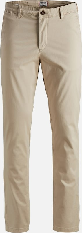 JACK & JONES Slim Fit Chino in camel: Frontalansicht