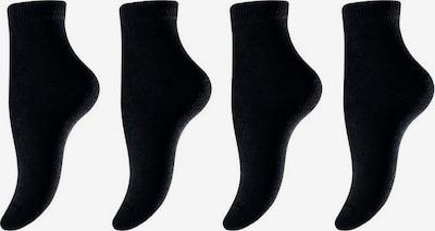 LAVANA Socken in schwarz: Frontalansicht