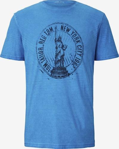 TOM TAILOR T-Shirt Gestreiftes T-Shirt mit NYC-Print in blau, Produktansicht