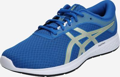 Bėgimo batai 'PATRIOT 11' iš ASICS , spalva - mėlyna / žaliosios citrinos spalva / sidabrinė, Prekių apžvalga