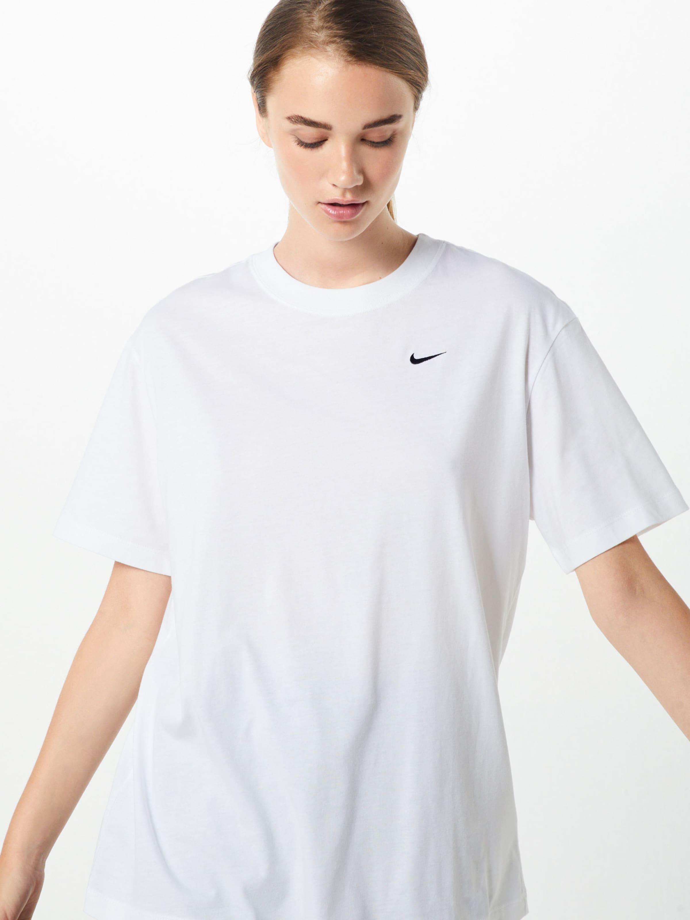'essntl' T NoirBlanc Nike En shirt Oversize Sportswear ErBxQdCeWo