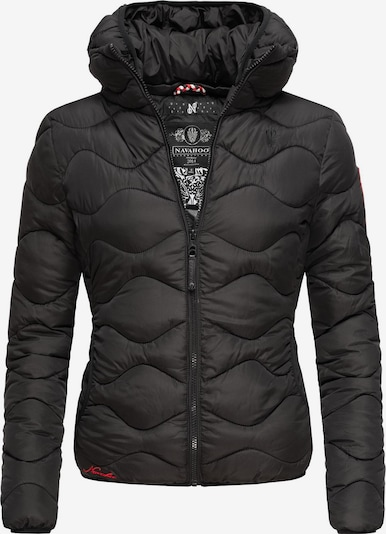 NAVAHOO Winterjacke 'Key Color' in schwarz, Produktansicht