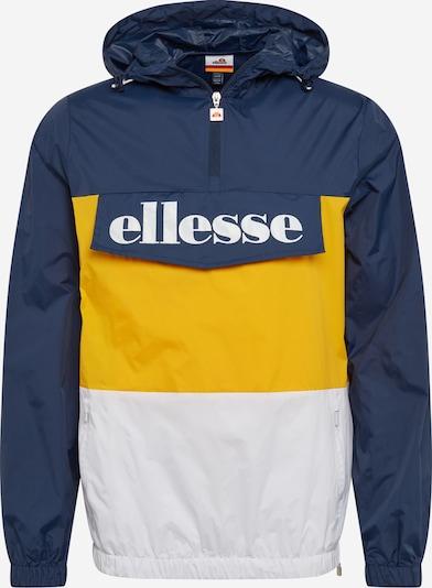 ELLESSE Tussenjas ' Domani ' in de kleur Blauw / Geel / Wit, Productweergave