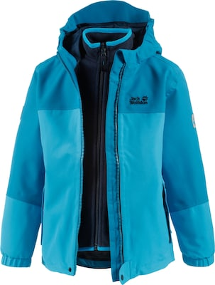 JACK WOLFSKIN 3-in-1-Funktionsjacke 'CELAND 3in1 GIRLS'