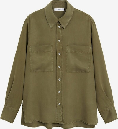 MANGO Hemd 'Classic' in khaki, Produktansicht