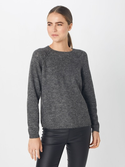 ONLY Pullover in dunkelgrau: Frontalansicht